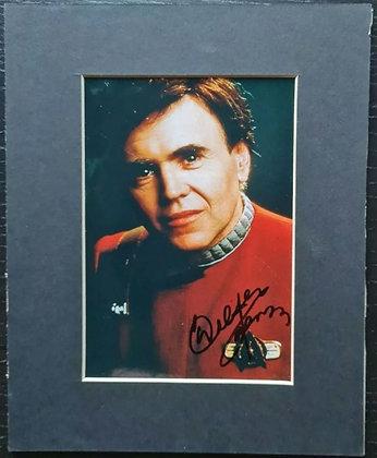 Walter Koenig Signed & Mounted Photo - Star Trek