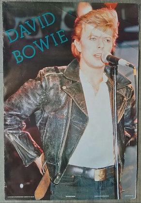 David Bowie Poster from 1987 - Masterpiece Enterprises Ltd