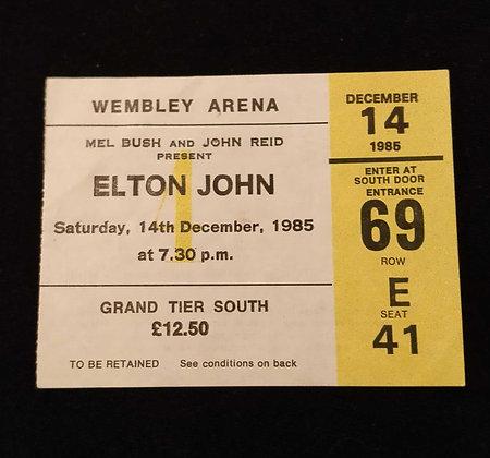 Elton John 1985 London