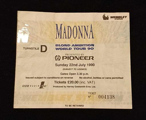 Madonna 1990 London