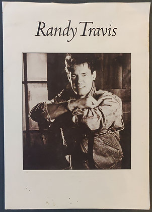 Randy Travis Press Pack from 1988 - Warner Bros. Records