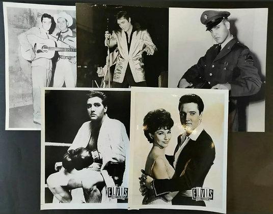 Elvis Presley B/W Photo/Print Selection (X5) - 4