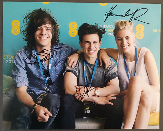 London Grammar Signed Photo with COA