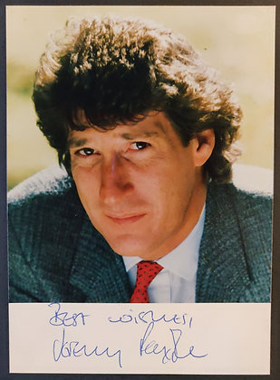 Jeremy Paxman Signed Photo