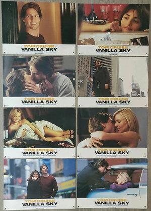 Vanilla Sky (2001) German Lobby Cards (x8) - Tom Cruise, Penélope Cruz