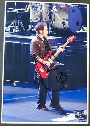 Nils Lofgren Signed Photo (E Street Band) with COA