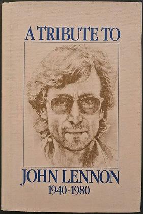 Hunter Davies Signed 'A Tribute To John Lennon 1940-1980' HB Book - Proteus