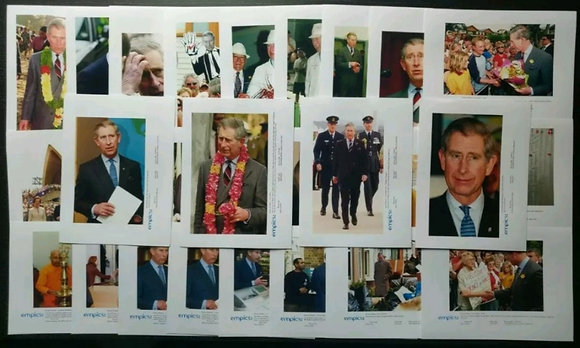 Prince Charles Press Photos (x30) from January-March 2005 - British Royal Family