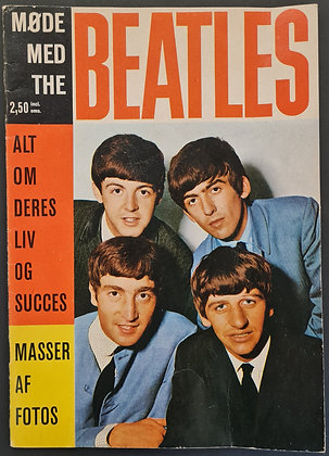 The Beatles 'Meet The Beatles' Danish Star Special Magazine from 1963