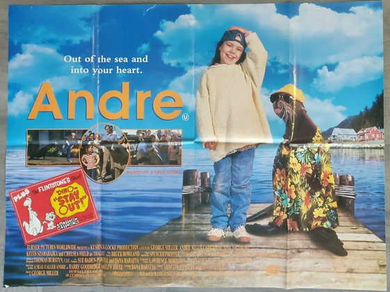 Andre (1994) UK Quad Poster - Tina Majorino, Keith Carradine
