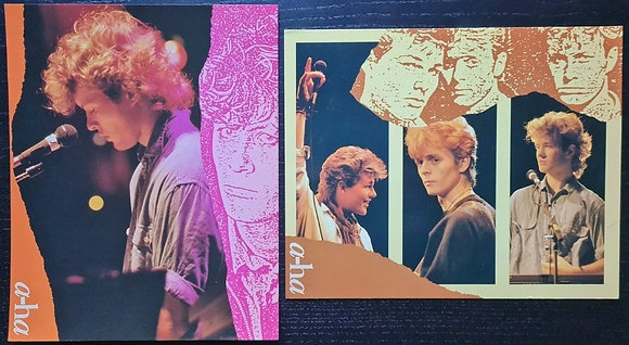 A-Ha Promo Photo/Prints (X2) - Artshop Nederland/Reflex Marketing - 1986
