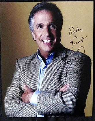 Henry Winkler Signed Photo