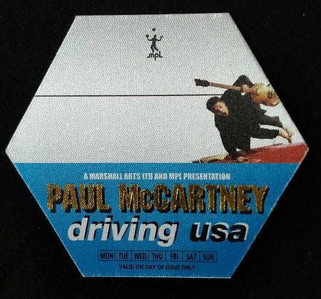 Paul McCartney 2002 Backstage Pass