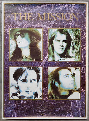 The Mission Band Promo Poster