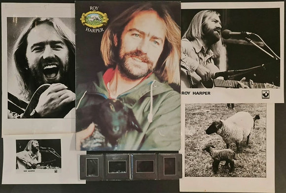 Roy Harper Photo/Negative Pack Used For 1977 Tour Programme