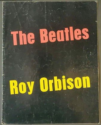 The Beatles & Roy Orbison UK Tour Programme 1963 - Red & Yellow Text