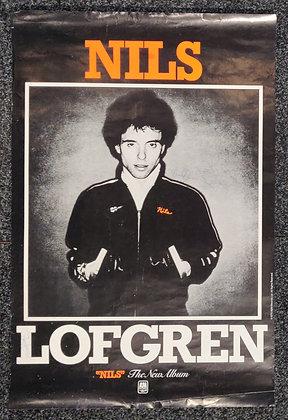 Nils Lofgren Signed Poster