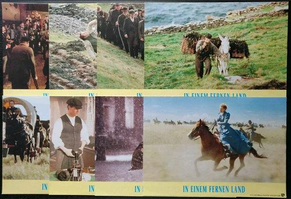 Far And Away (1992) German Lobby Cards (X8) - Tom Cruise, Nicole Kidman