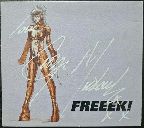 George Michael Signed 'Freeek!' CD Single - 2002, Polydor