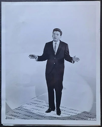 Johnny Tillotson Press Promo Photo - 'Just For Fun' (1963) - Columbia Pictures