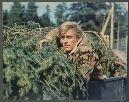 John Leyton Signed Photo - The Great Escape