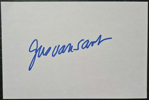 Gus Van Sant Autograph with CoA - Film Director - Good Will Hunting, Elephant