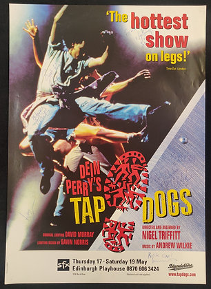 Dein Perry's Tap Dogs Signed Poster