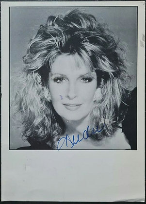 Deirdre Hall Signed Postcard from 1991 - Days Of Our Lives