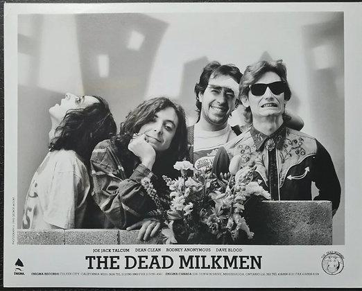 The Dead Milkmen Press Promo Photo from 1990 - Enigma Records, Pictorial Press