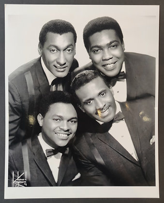 The Four Tops Press Photo
