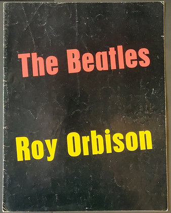 The Beatles / Roy Orbison Programme 1963