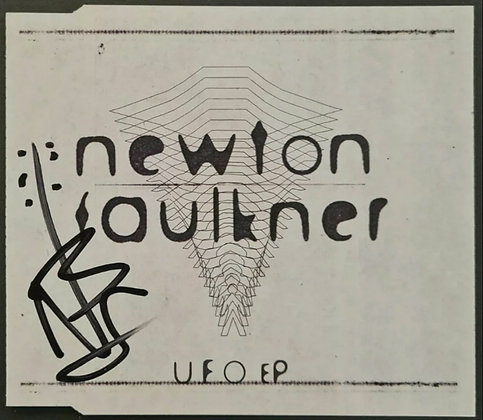 Newton Faulkner Signed CD Insert for 'UFO EP' - 2006