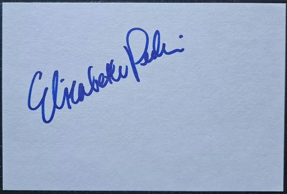 Elizabeth Perkins Autograph with COA - Big, Miracle on 34th Street, Finding Nemo