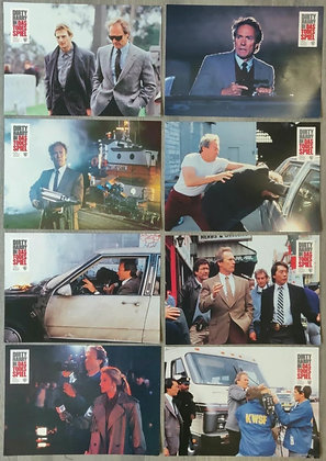 The Dead Pool (1988) German Lobby Cards (x8) - Dirty Harry - Clint Eastwood