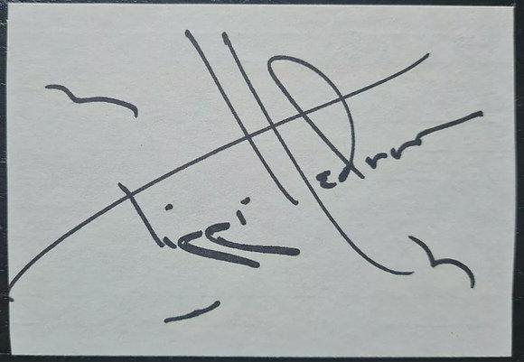 Tippi Hedren Autograph - The Birds, Marnie, A Countess From Hong Kong