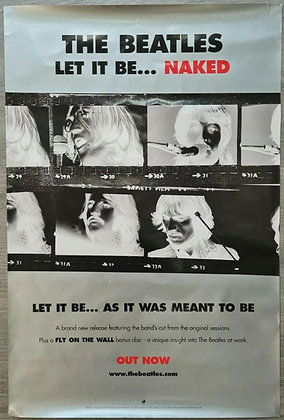 The Beatles 'Let It Be... Naked' Promo Poster from 2003