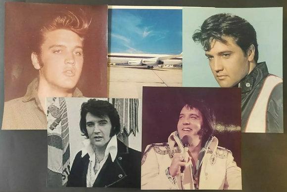Elvis Presley Mixed Photo/Print Selection (X5)