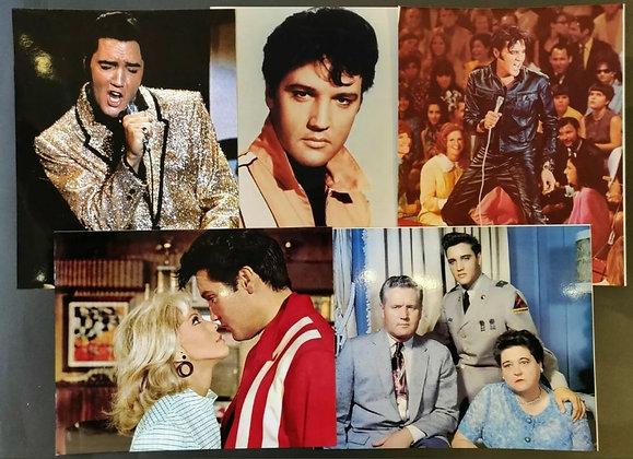 Elvis Presley Colour Photo/Print Selection (x5) - 1
