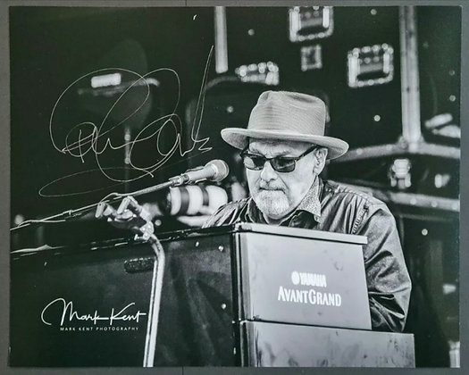 Paul Carrack Signed Photo with COA - Mike and the Mechanics