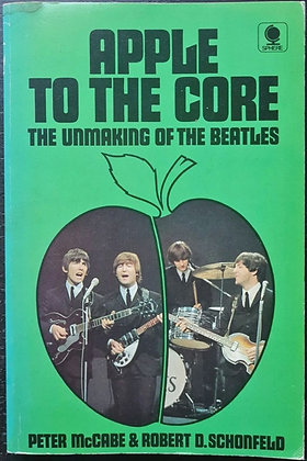 Hunter Davies Signed 'Apple To The Core' Paperback Book - Sphere, 1973