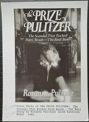 Roxanne Pulitzer Signed Promo Photo - The Prize Pulitzer, Novelist