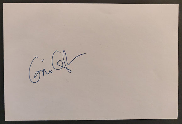 Gia Coppola Signed Index Card - Palo Alto