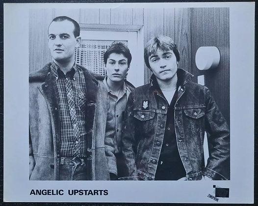 Angelic Upstarts Promo Photo - Zonophone Records