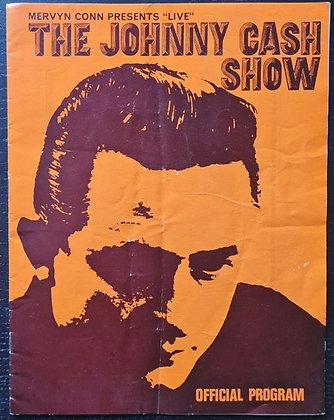 Johnny Cash UK Tour Programme from 1968 - June Carter, Carl Perkins, James Royal