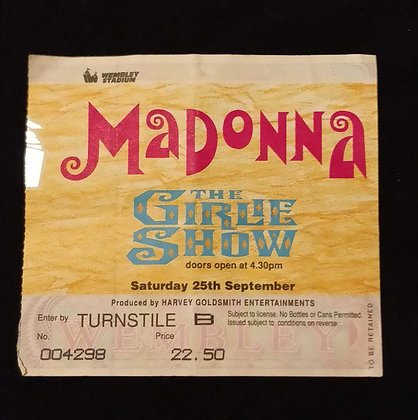 Madonna 1993 London