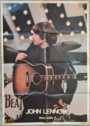 John Lennon 1940-1980 Poster - Dargis Associates (1980) - Printed In USA