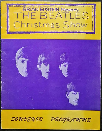 The Beatles Christmas Show Programme from 1963 - Brian Epstein - (B)