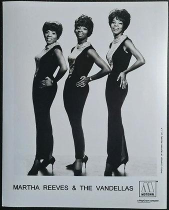 Martha Reeves & The Vandellas Promo Photo - Motown/Polygram