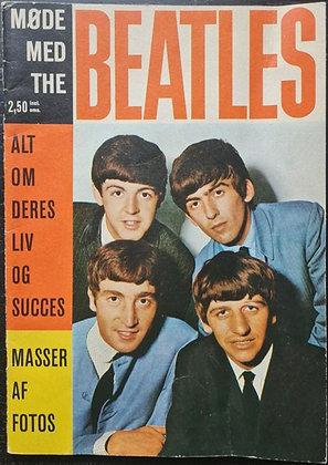 The Beatles 'Meet The Beatles' Danish Magazine - 1963 - 'Møde Med The Beatles'