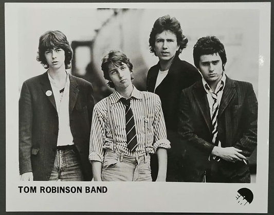 Tom Robinson Band Promo Photo - EMI Records - 1977